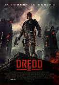 Dredd 2012 poster Karl Urban Pete Travis