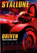 Driven 2001 poster Sylvester Stallone Renny Harlin