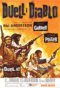 Duell i Diablo 1966 poster Bill Travers