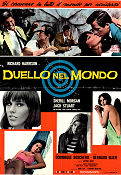 Duello nel Mondo 1966 poster Richard Harrison Luigi Scattini