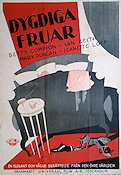 Dygdiga fruar 1930 poster Betty Compson Mal St Clair