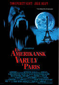 En amerikansk varulv i Paris 1997 poster Tom Everett Scott Anthony Waller