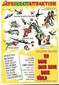 En ding ding ding ding värld 1964 poster Spencer Tracy
