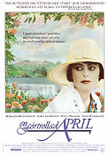 En förtrollad april 1992 poster Miranda Richardson Mike Newell