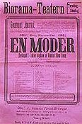 En moder 1913 Filmaffisch Betty Nansen