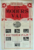 En moders val 1915 Filmaffisch Carey Hastings