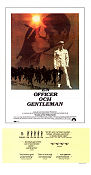 En officer och en gentleman 1982 poster Richard Gere Taylor Hackford