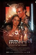 Episode II Attack of the Clones Poster 68x102cm USA RO original