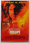 Escape From LA Poster RO 30x50 original