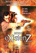 Existenz 1999 poster Jennifer Jason Leigh David Cronenberg
