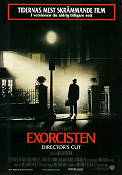 Exorcisten 1974 poster Jason Miller William Friedkin