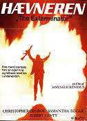 The Exterminator 1983 poster Christopher George James Glickenhaus