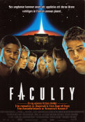 The Faculty 1998 poster Jordana Brewster Robert Rodriguez
