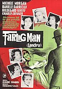 Farlig man 1963 poster Michele Morgan Claude Chabrol