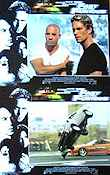 The Fast and the Furious 2001 lobbykort Paul Walker Rob Cohen