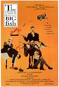 The Favour the Watch and the Very Big Fish 1991 poster Bob Hoskins