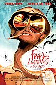 Fear and Loathing in Las Vegas 1998 poster Johnny Depp Terry Gilliam