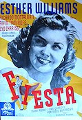 Fiesta 1947 poster Esther Williams