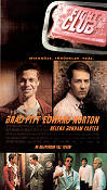 Fight Club 1999 poster Brad Pitt David Fincher