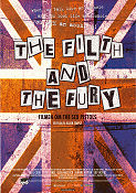 The Filth and the Fury 2000 poster Sex Pistols Julien Temple