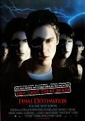Final Destination 1999 poster Devon Sawa