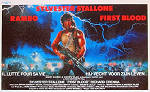 First Blood Poster 35x50cm Belgium FN original