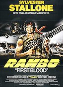 First Blood Poster France 120x160 original