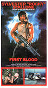 First Blood 1982 poster Sylvester Stallone