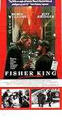 The Fisher King 1991 poster Robin Williams Terry Gilliam