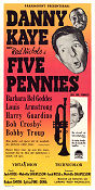 The Five Pennies 1959 poster Danny Kaye