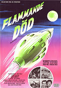 Flammande död 1958 poster Robert Loggia William Berke