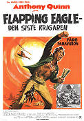 Flapping Eagle 1970 poster Anthony Quinn Carol Reed