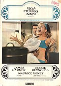 Flicka i turkos bikini 1968 poster James Garner