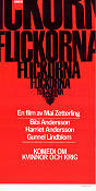 Flickorna Poster 30x70cm NM original