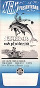 Flipper och piraterna 1969 poster Luke Halpin