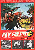 Fly för livet 1956 poster Richard Widmark Roy Boulting