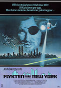 Flykten från New York 1981 poster Kurt Russell John Carpenter