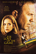 For Love of the Game 1999 poster Kevin Costner Sam Raimi