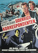 Foreign Correspondent 1940 poster Joel McCrea Alfred Hitchcock