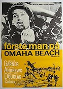 F�rste man p� Omaha Beach Poster 70x100cm NM original