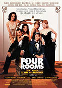 Four Rooms Poster 70x100cm RO original