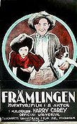 Främlingen 1923 poster Harry Carey