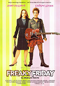 Freaky Friday 2003 poster Jamie Lee Curtis Mark Waters