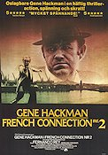 The French Connection 2 1975 poster Gene Hackman