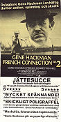 The French Connection 2 1975 poster Gene Hackman John Frankenheimer