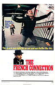 The French Connection 1971 poster Gene Hackman William Friedkin