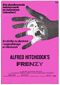 Frenzy 1972 poster John Finch Alfred Hitchcock