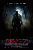 Friday the 13th 2009 poster Derek Mears Marcus Nispel