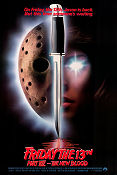 Friday the 13th part 7 1988 poster John Carl Buechler