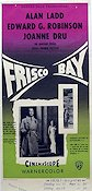 Frisco Bay 1956 poster Alan Ladd